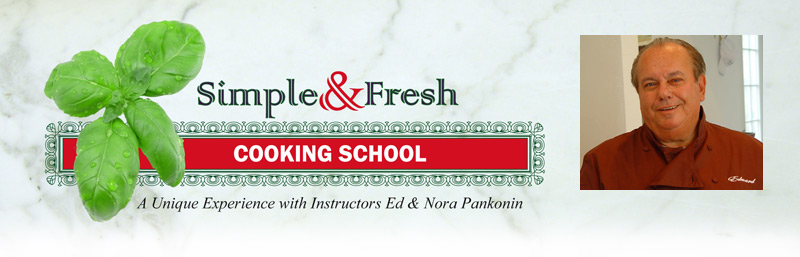 Simple and fresh Traditional Italian cooking class instructor Ed Pankonin